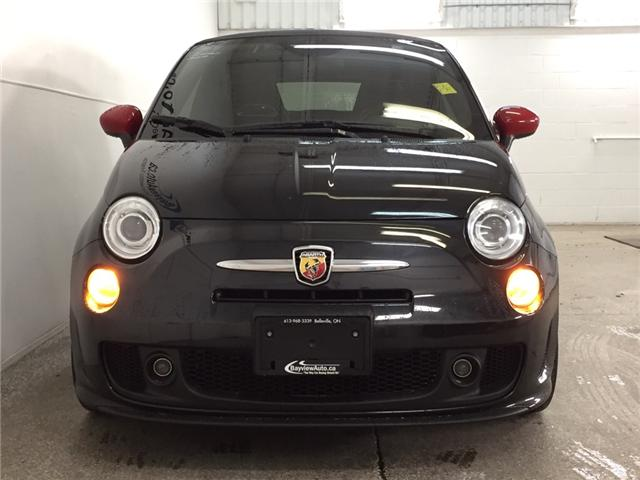 2013 Fiat 500 ABARTH- CONVERTIBLE|6 SPD|TURBO|BEATS|BLUETOOTH! (Stk: 32410W) in Belleville - Image 2 of 25