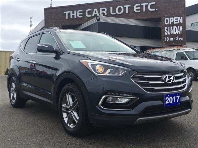 2017 Hyundai Santa Fe Sport 2.4 Premium (Stk: 18029) in Sudbury - Image 1 of 14