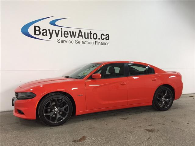 2017 Dodge CHARGER RT- HEMI|REM STRT|ROOF|LTHR|NAV|REV CAM|BSA|BEATS! (Stk: 32321W) in Belleville - Image 1 of 30