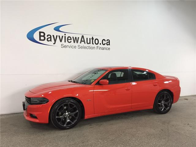 2017 Dodge CHARGER R/T- HEMI|REM STRT|ROOF|BSA|BEATS|NAV|ACC|LTHR! (Stk: 32355W) in Belleville - Image 1 of 28