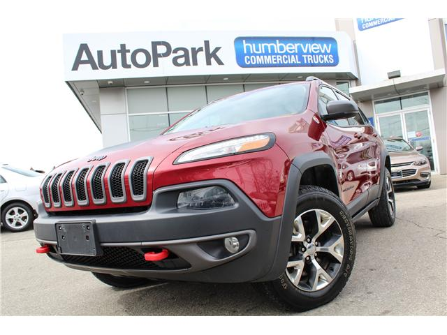 2016 Jeep Cherokee Trailhawk (Stk: ) in Mississauga - Image 1 of 28