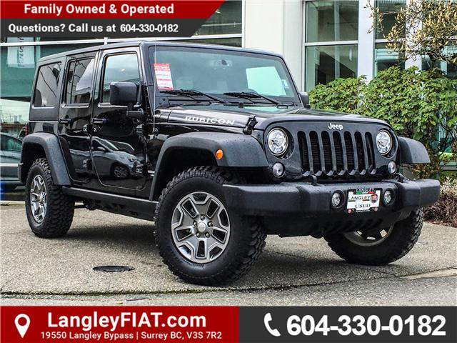 2017 Jeep Wrangler Unlimited Rubicon (Stk: EE888130) in Surrey - Image 1 of 26
