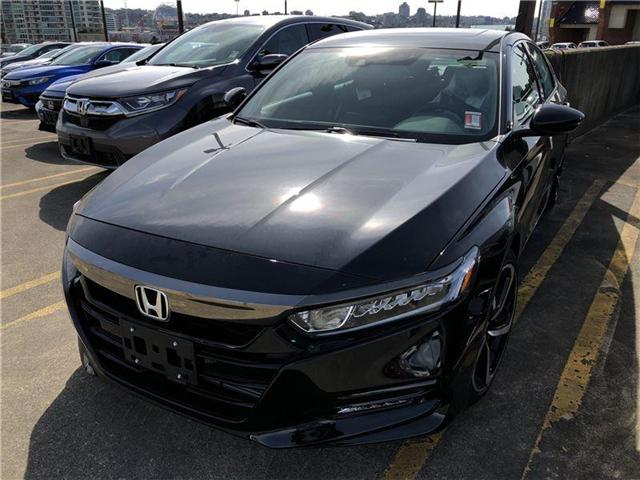 2018 Honda Accord Sport 2.0T (Stk: 6J06860) in Vancouver - Image 1 of 4
