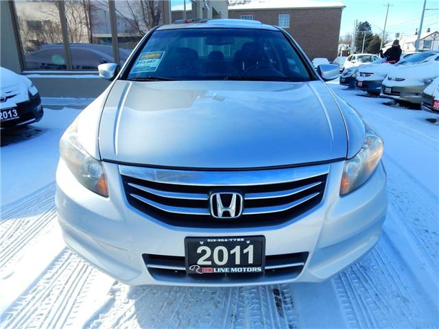 2011 Honda Accord EX-L (Stk: 1HGCP2) in Kitchener - Image 2 of 25
