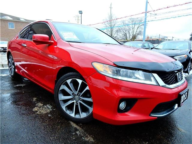 2013 Honda Accord EX-L-NAVI V6 (Stk: 1HGCT2) in Kitchener - Image 1 of 27