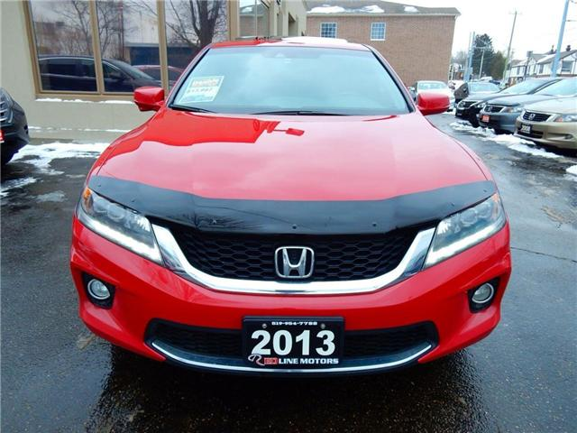 2013 Honda Accord EX-L-NAVI V6 (Stk: 1HGCT2) in Kitchener - Image 2 of 27