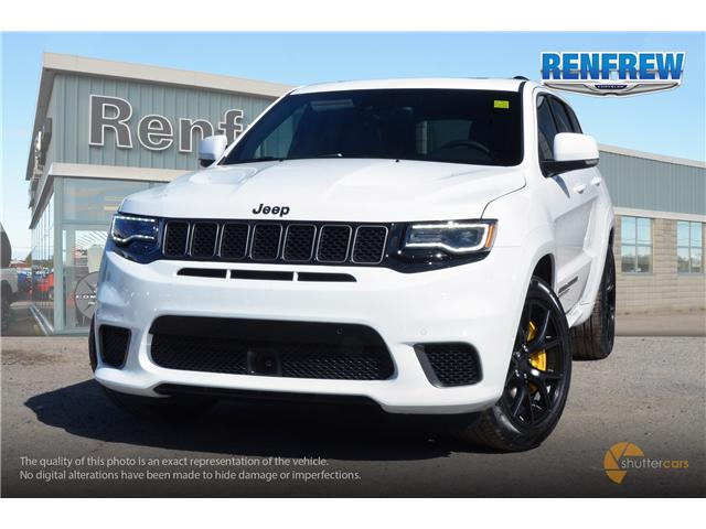 2018 Jeep Grand Cherokee Trackhawk (Stk: J132) in Renfrew - Image 1 of 20