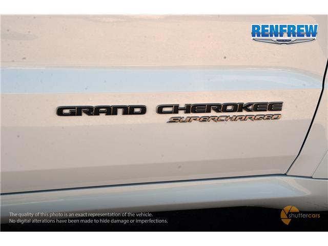 2018 Jeep Grand Cherokee Trackhawk (Stk: J132) in Renfrew - Image 7 of 20