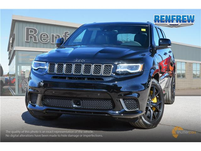 2018 Jeep Grand Cherokee Trackhawk (Stk: J133) in Renfrew - Image 1 of 20