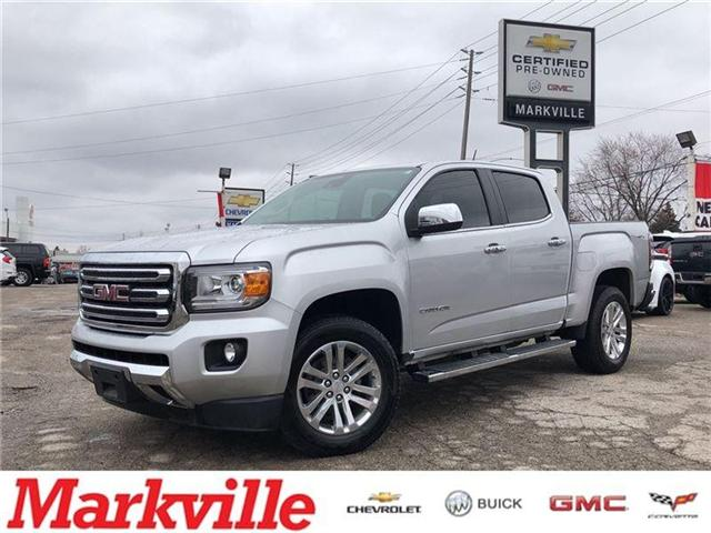 2016 GMC Canyon SLT-DIESEL-AWD-GM CERTIFIED PRE-OWNED-1 OWNER!! (Stk: P6179) in Markham - Image 1 of 21