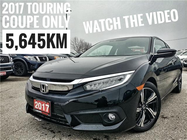 2017 Honda Civic Touring (Stk: HM552536A) in Cobourg - Image 1 of 35