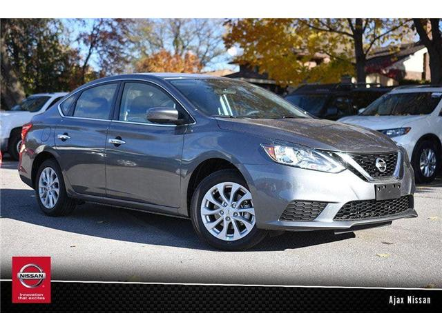 2018 Nissan Sentra 1.8 SV (Stk: T070) in Ajax - Image 1 of 12