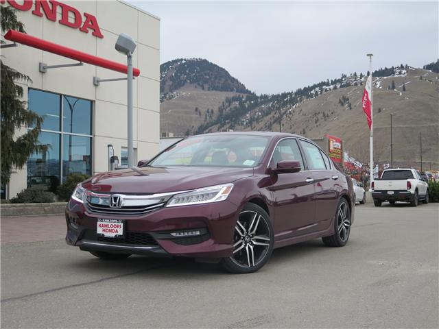 2017 Honda Accord Touring V6 (Stk: N13565) in Kamloops - Image 1 of 9