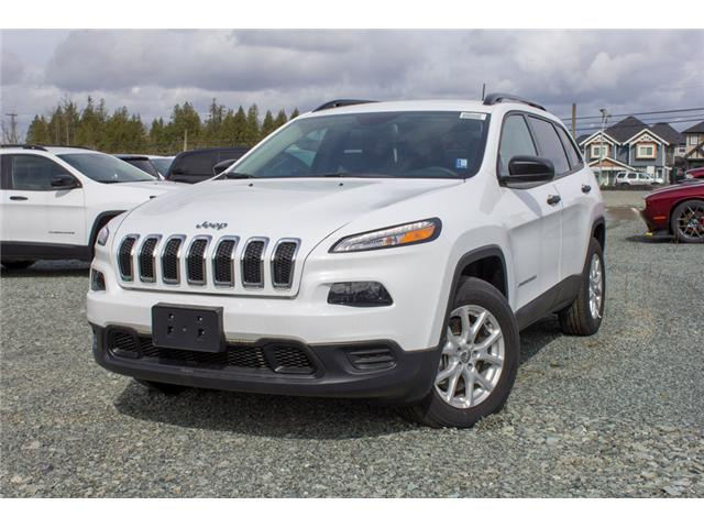 2018 Jeep Cherokee Sport (Stk: J517555) in Abbotsford - Image 3 of 28