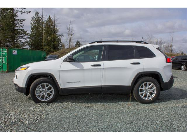 2018 Jeep Cherokee Sport (Stk: J517555) in Abbotsford - Image 4 of 28