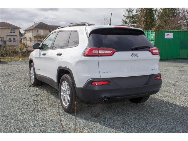 2018 Jeep Cherokee Sport (Stk: J517555) in Abbotsford - Image 5 of 28