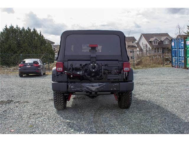 2018 Jeep Wrangler JK Unlimited Sport (Stk: J820600) in Abbotsford - Image 6 of 21