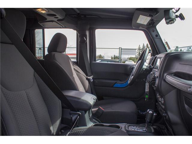 2018 Jeep Wrangler JK Unlimited Sport (Stk: J820600) in Abbotsford - Image 15 of 21