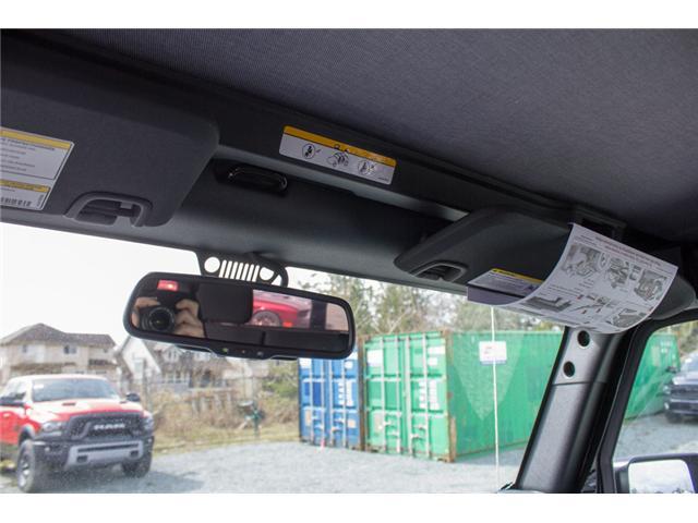2018 Jeep Wrangler JK Unlimited Sport (Stk: J820600) in Abbotsford - Image 21 of 21