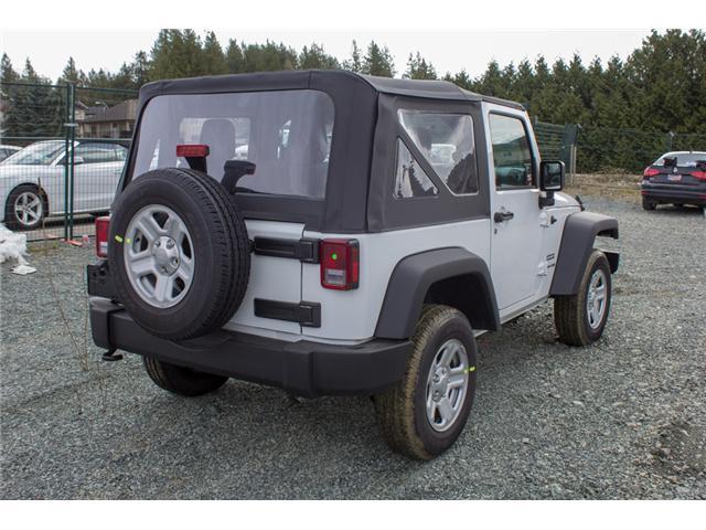 2018 Jeep Wrangler JK Sport (Stk: J900369) in Abbotsford - Image 7 of 20