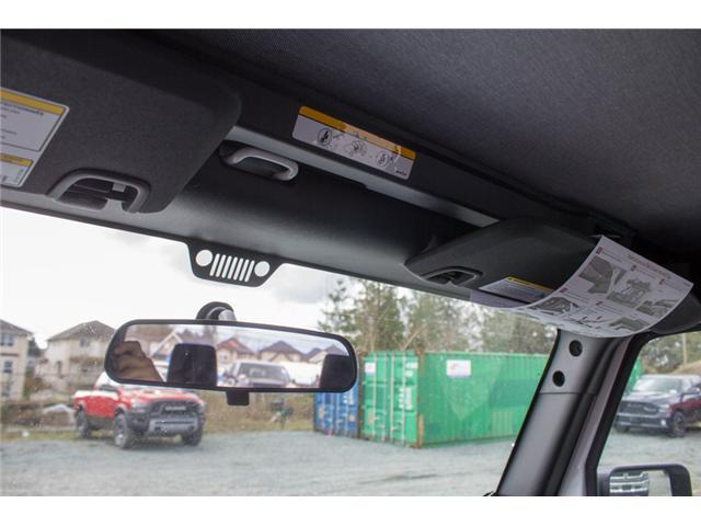 2018 Jeep Wrangler JK Sport (Stk: J900369) in Abbotsford - Image 20 of 20