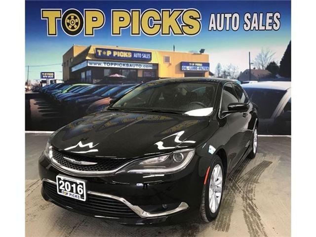 2016 Chrysler 200 Limited (Stk: 196785) in NORTH BAY - Image 1 of 18