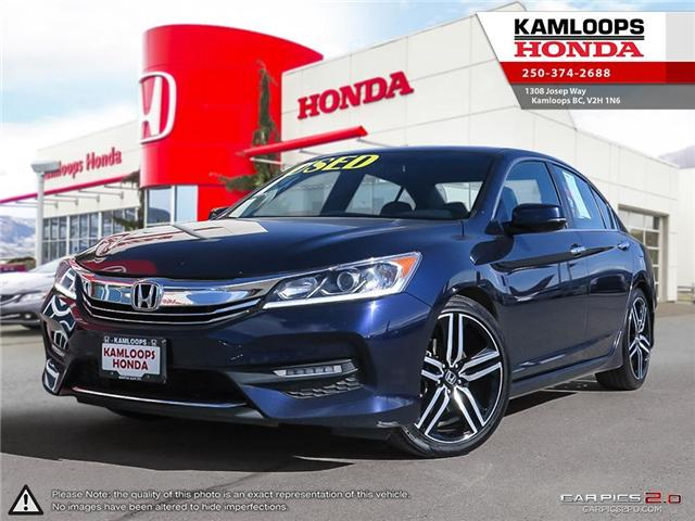 2016 Honda Accord Sport (Stk: 13816A) in Kamloops - Image 1 of 25