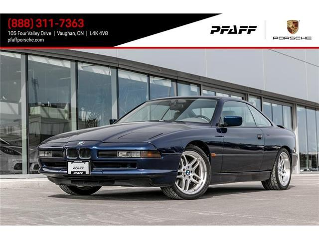 1991 BMW 850ci a (Stk: P12220AB) in Vaughan - Image 1 of 21