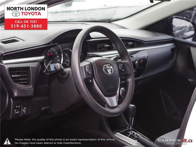 2014 Toyota Corolla CE (Stk: A218141) in London - Image 6 of 27