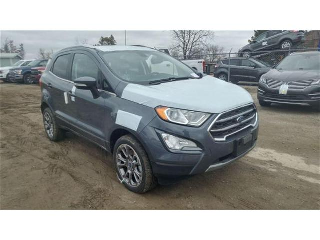 2018 Ford EcoSport Titanium (Stk: 18SP0601) in Unionville - Image 1 of 13