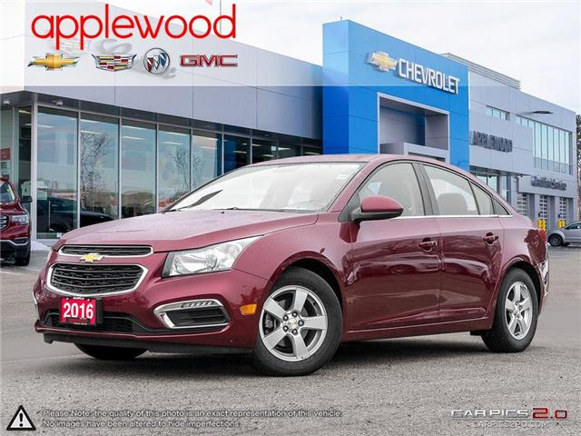 2016 Chevrolet Cruze Limited 2LT (Stk: 8327P) in Mississauga - Image 1 of 27