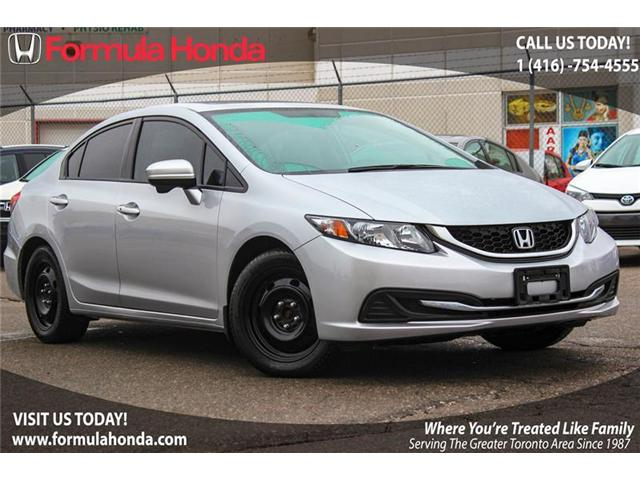 2014 Honda Civic EX (Stk: B10185) in Scarborough - Image 1 of 22
