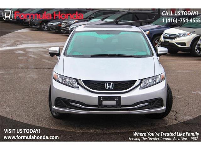 2014 Honda Civic EX (Stk: B10185) in Scarborough - Image 2 of 22