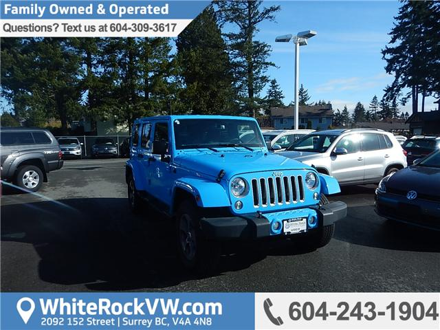 2017 Jeep Wrangler Unlimited Sahara (Stk: VW0675) in Surrey - Image 1 of 29