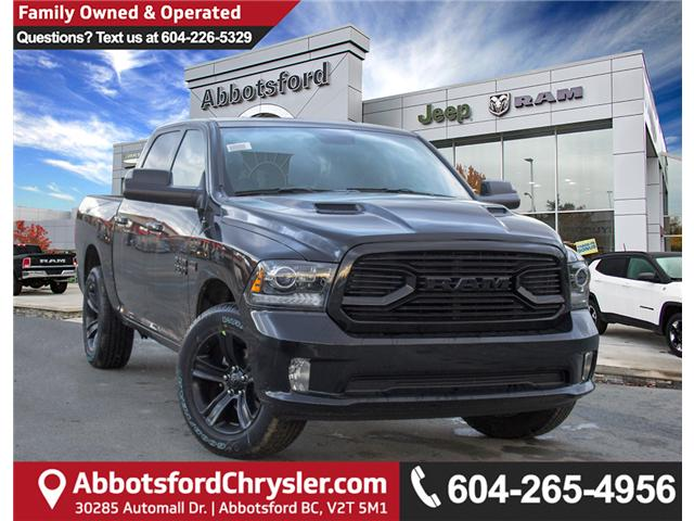 2018 RAM 1500 Sport (Stk: J176173) in Abbotsford - Image 1 of 30