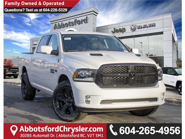 2018 RAM 1500 Sport (Stk: J204394) in Abbotsford - Image 1 of 30
