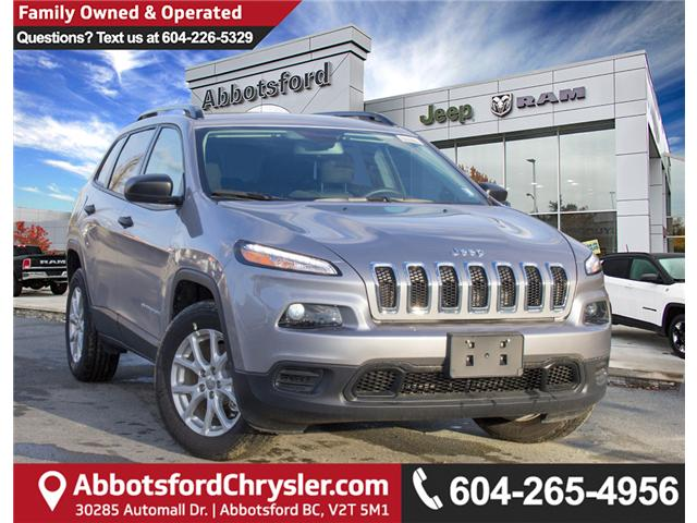 2018 Jeep Cherokee Sport (Stk: J517553) in Abbotsford - Image 1 of 25