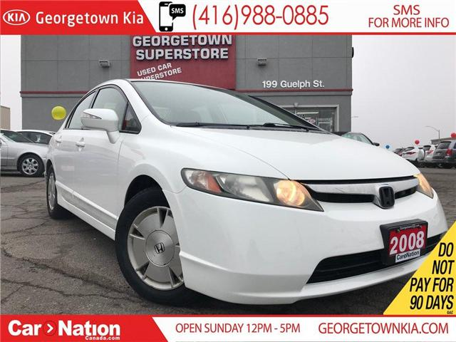 2008 Honda Civic Hybrid HYBIRD | POWER OPTIONS | ALLOYS | ONLY 81,441K KM (Stk: P10747) in Georgetown - Image 1 of 24