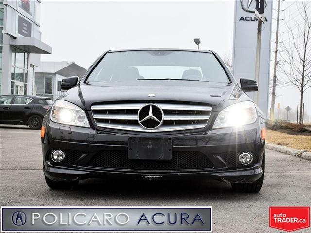 2010 Mercedes-Benz C-Class Base (Stk: J805296A) in Brampton - Image 2 of 20