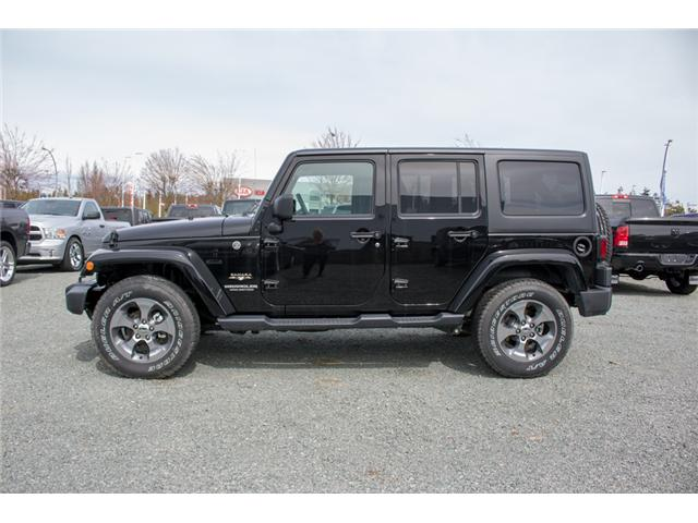2017 Jeep Wrangler Unlimited Sahara (Stk: H727416) in Abbotsford - Image 4 of 23
