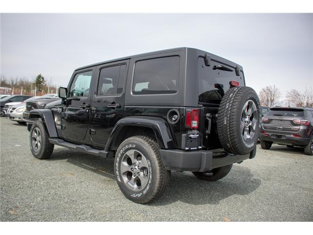 2017 Jeep Wrangler Unlimited Sahara (Stk: H727416) in Abbotsford - Image 5 of 23