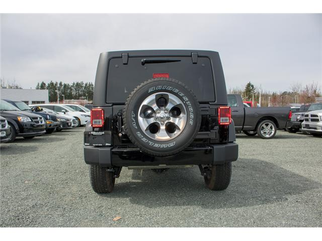 2017 Jeep Wrangler Unlimited Sahara (Stk: H727416) in Abbotsford - Image 6 of 23