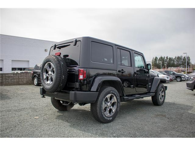 2017 Jeep Wrangler Unlimited Sahara (Stk: H727416) in Abbotsford - Image 7 of 23