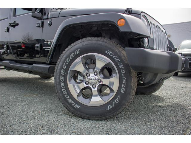 2017 Jeep Wrangler Unlimited Sahara (Stk: H727416) in Abbotsford - Image 9 of 23
