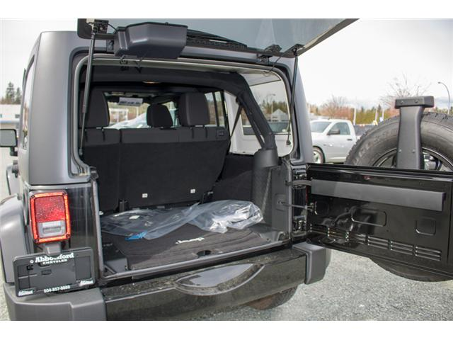 2017 Jeep Wrangler Unlimited Sahara (Stk: H727416) in Abbotsford - Image 10 of 23