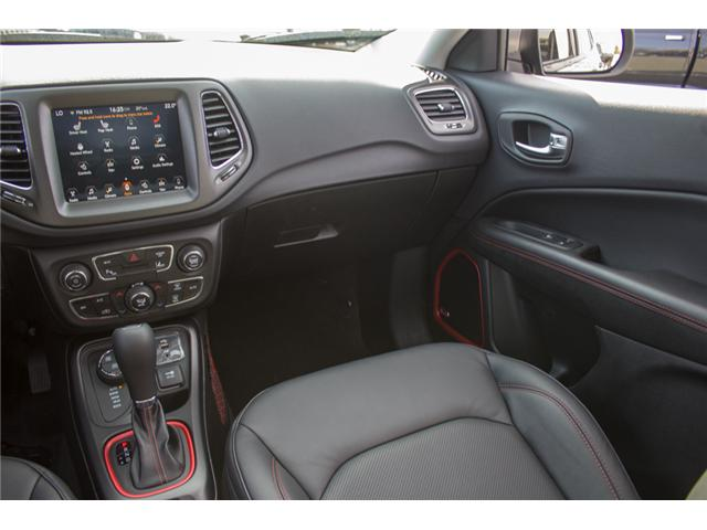2018 Jeep Compass Trailhawk (Stk: J112825) in Abbotsford - Image 21 of 28