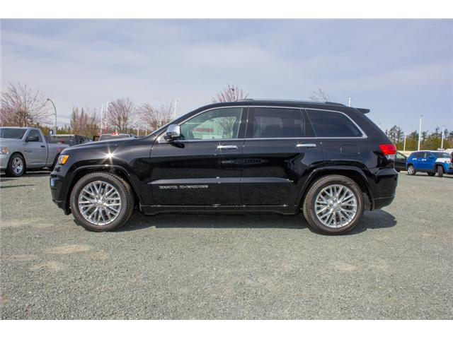 2018 Jeep Grand Cherokee Overland (Stk: J302981) in Abbotsford - Image 4 of 27