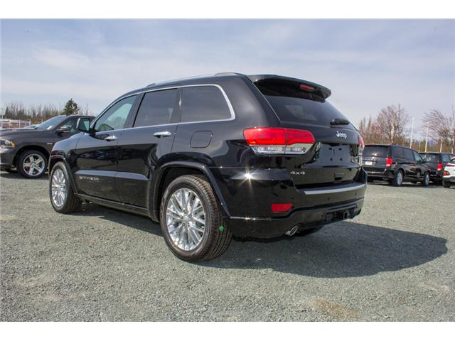 2018 Jeep Grand Cherokee Overland (Stk: J302981) in Abbotsford - Image 5 of 27