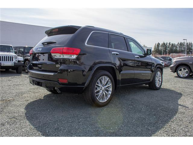 2018 Jeep Grand Cherokee Overland (Stk: J302981) in Abbotsford - Image 7 of 27