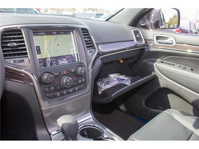 2018 Jeep Grand Cherokee Overland (Stk: J302981) in Abbotsford - Image 21 of 27